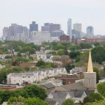 View of Boston from Somerville MA
